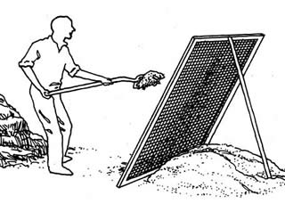 compost zeven (VELT 1993)